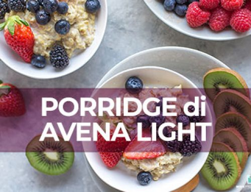 Come preparare il porridge di avena light