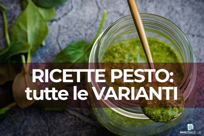 Pesto: non solo basilico! Le alternative da fare a casa